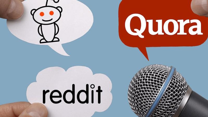 Reddit And Quora